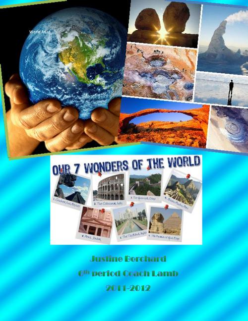 Justine Borchard's World Atlas