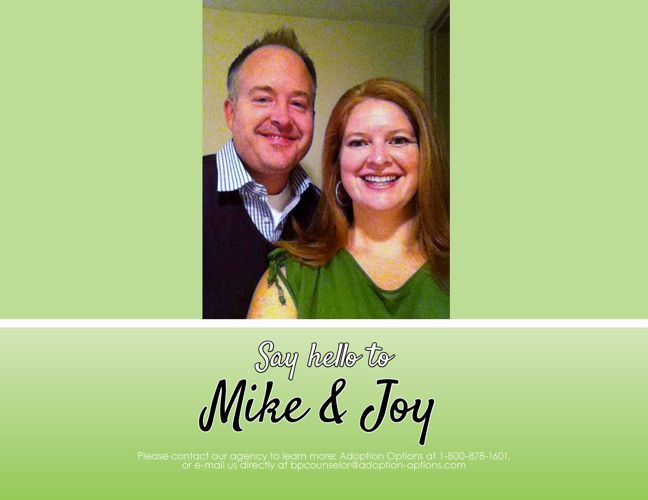 Mike and Joy's Adoptive Family Profile