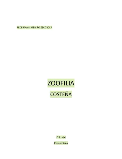 Copy of ZOOFILIA