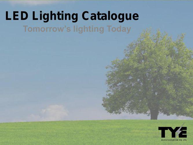 TYE LED Catalogue 2015
