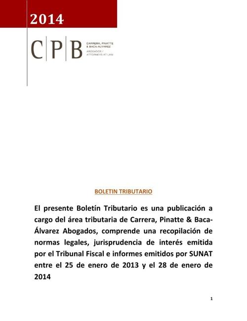Boletin 28ene14