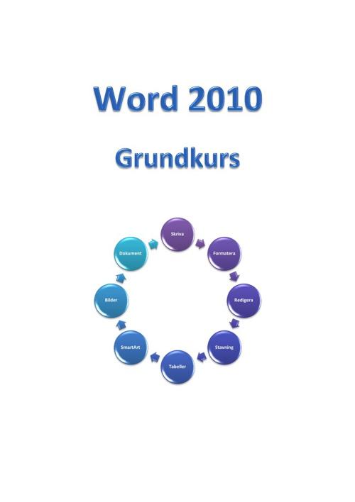 Grundkurs Word 2010