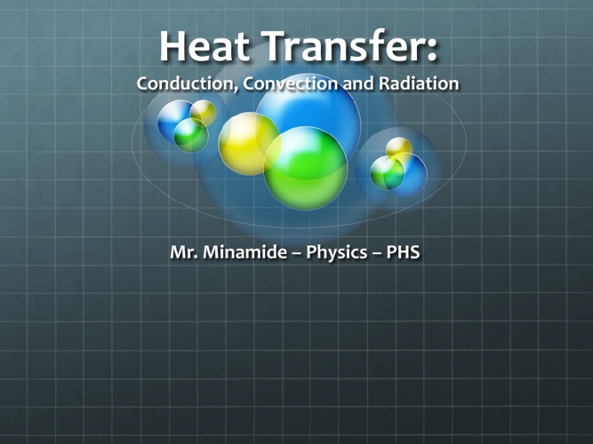 Physics Heat Transfer Lab