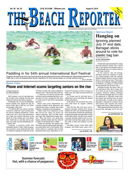 The Beach Reporter | 8-6-15