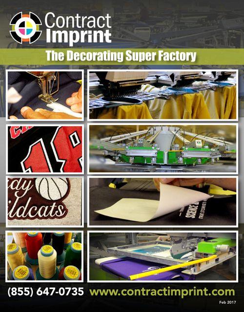 2017 Contract Imprint Catalog