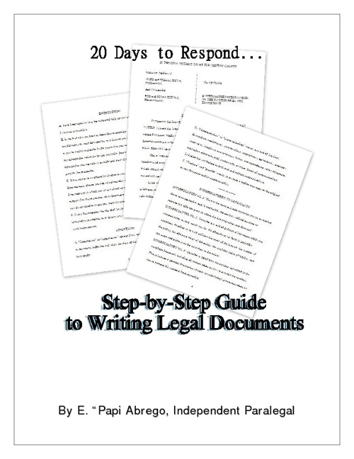 20 Days to Respond: A Guide to Writing Legal Documents