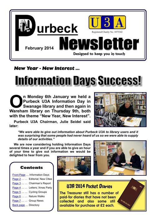 Newsletter 2014-02