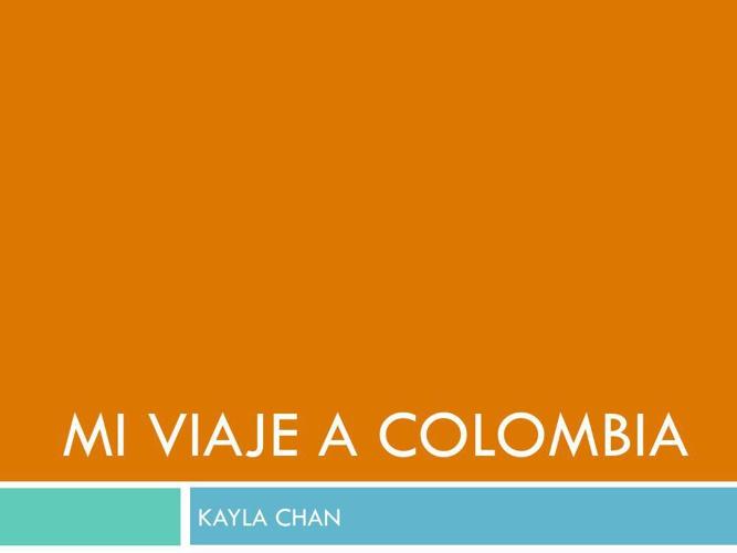 Colombia Sentences 2