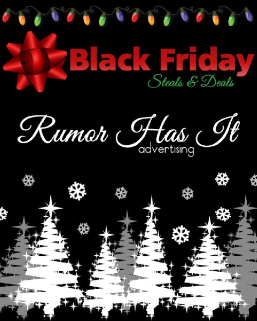 Rumor Has It Advertising Black Friday eMag Edition