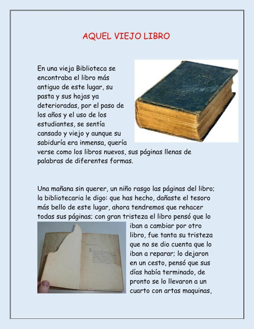 Aquel viejo libro
