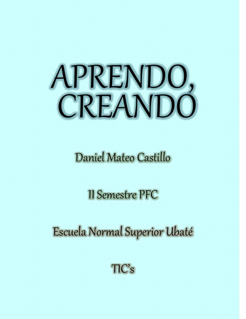 APRENDO Daniel Mateo Castillo