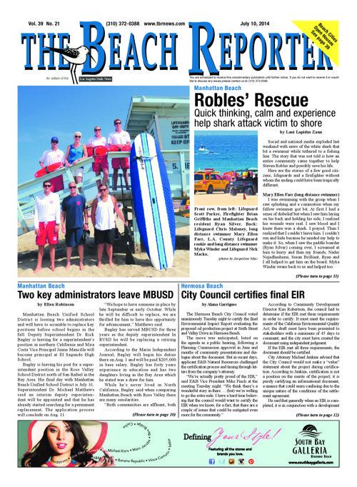 The Beach Reporter   7-10-14