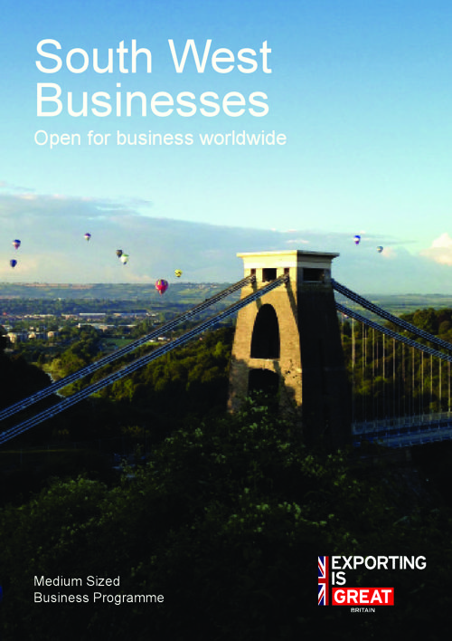South West Businesses - Open for business worldwide
