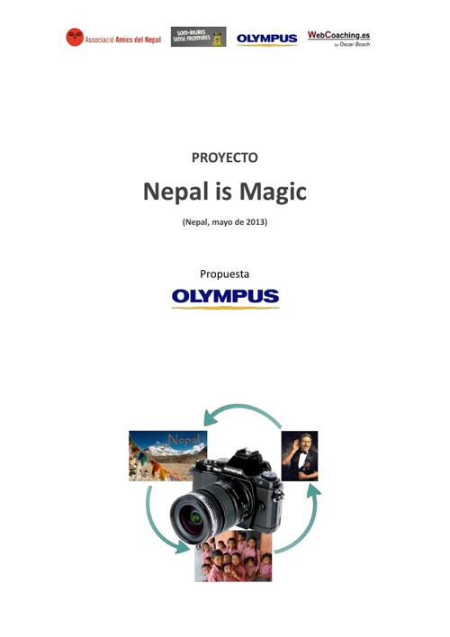 Nepal is Magic with Olympus