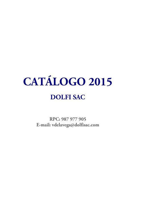 CATALOGO DOLFI 2015