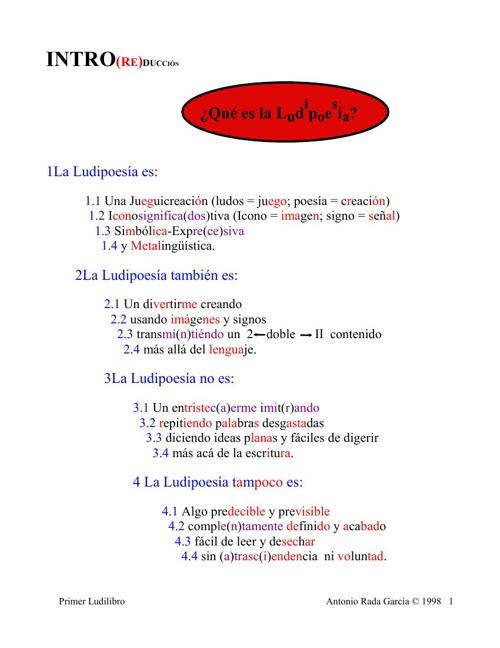 Ludilibro 1