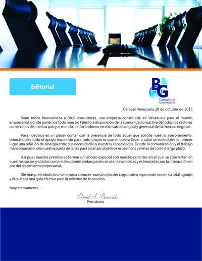 Dossier B&G Consultores Gerenciales  Español