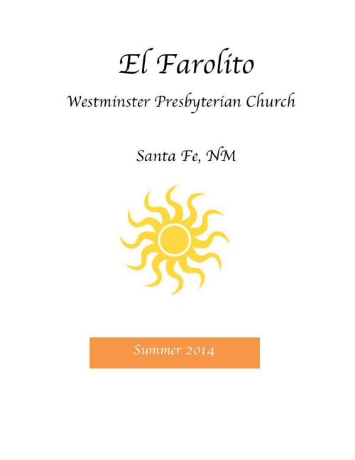 Summer 2014 Farolito
