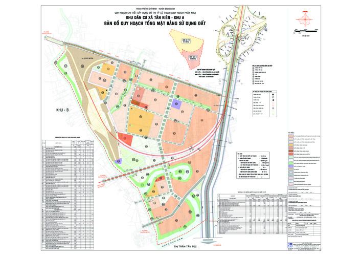 Đồ án quy hoạch Khu dân cư xã Tân Kiên, Khu A xã Tân Kiên