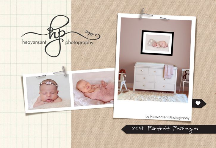 Heavensent Photography 2017 Packages