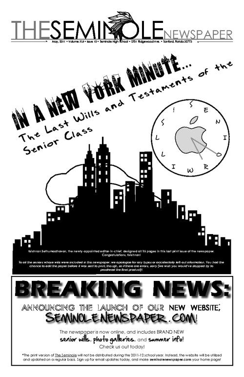 SENIOR WILLS 2010-11