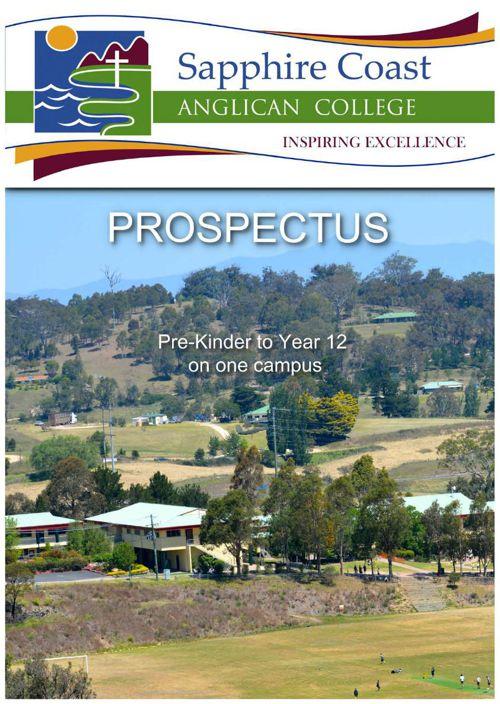 Sapphire Coast Anglican College Prospectus 2015