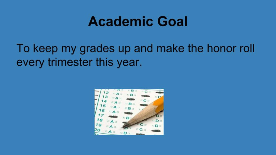 Goal Setting 2015 Thomas Nguyen