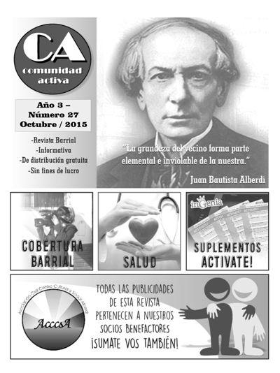 Comunidad Activa - OCTUBRE/2015