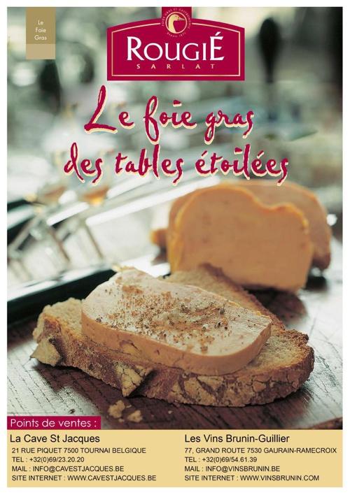 Le foie gras Rougié des tables étoilées