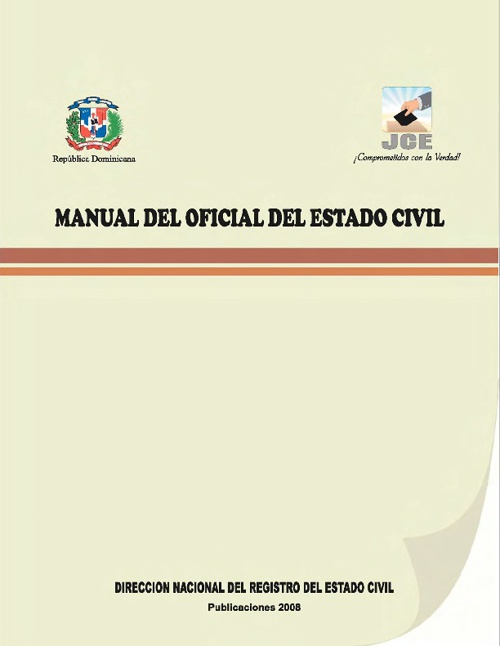 Copy of Manual del Oficial Civil