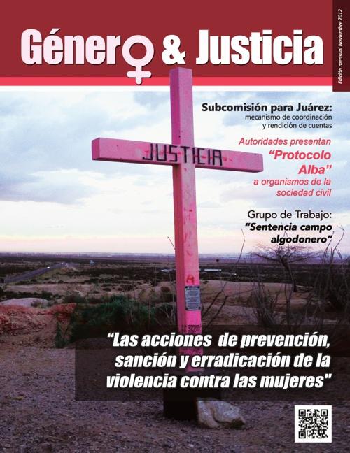 Boletin 2. Género y Justicia.