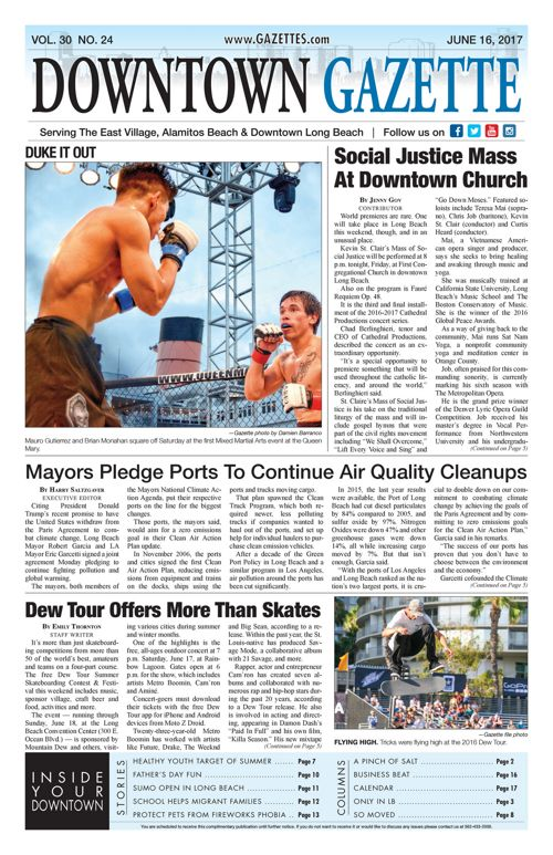 Downtown Gazette  |  June 16, 2017
