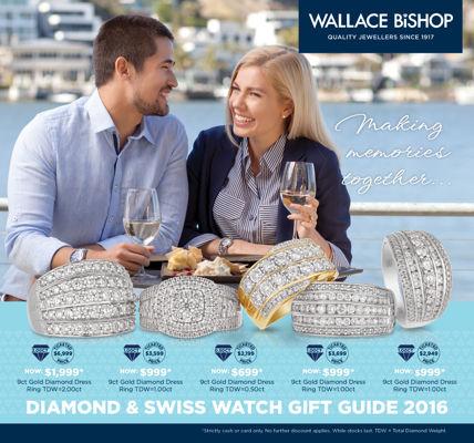 Diamond & Swiss Watch Gift Guide 2016
