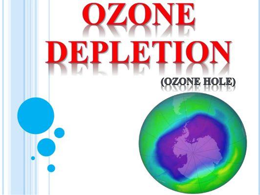 SANHI at EPEKTO ng OZONE DEPLETION