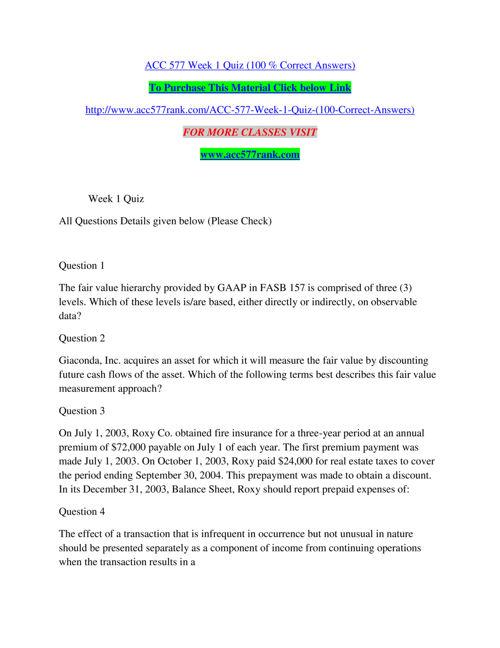 ACC 577 RANK Real Success / acc577rank.com