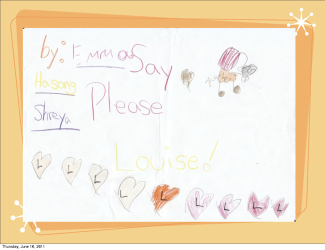 New FlipSay Please Louise by Hasong, Shreya and Emma