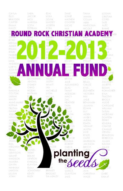 Annual Fund 2012-2013