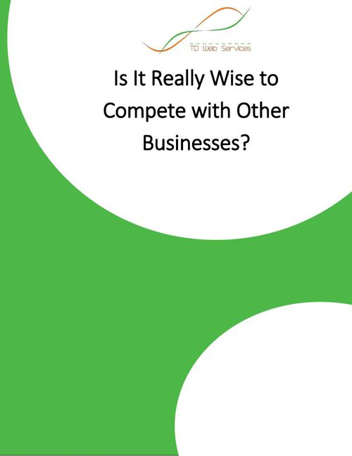 Is It Really Wise to Compete with Other Businesses?