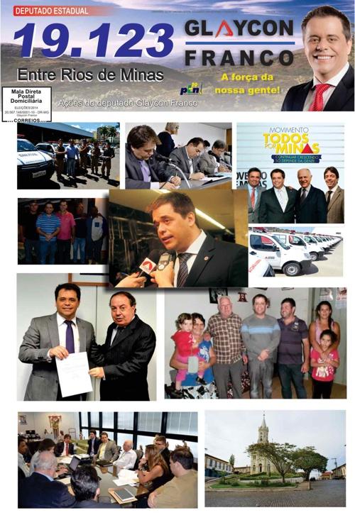 Jornal Entre Rios de Minas - Glaycon Franco