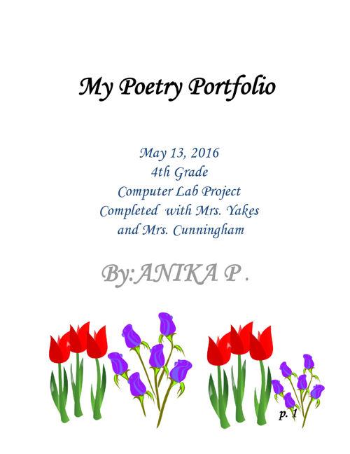 Poetry-Portfolio-Anika P