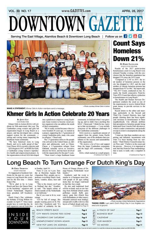 Downtown Gazette  |  April 28, 2017
