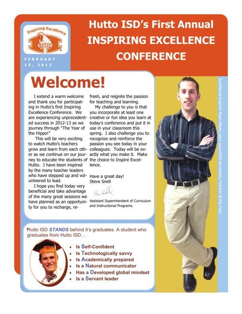 Inspiring Excellence Full Program