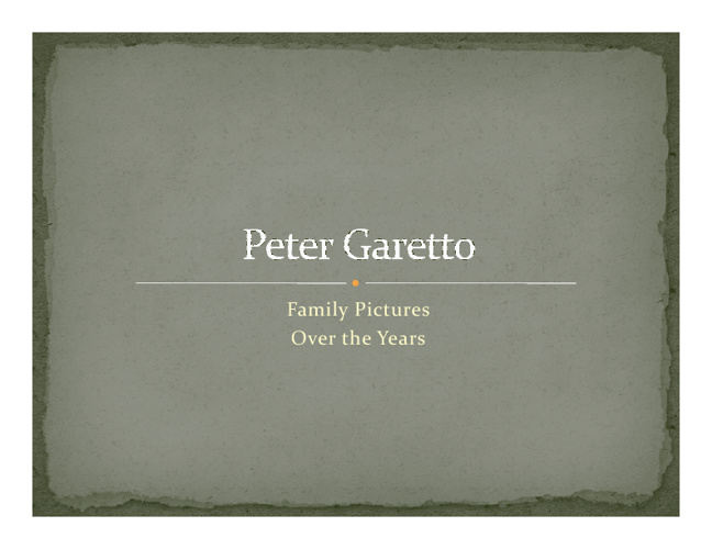 Peter Garetto Flip 1