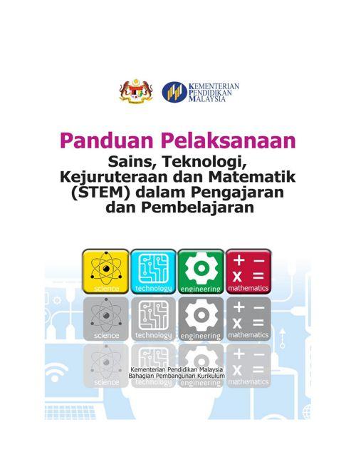 003 Panduan Pelaksanaan STEM Dalam P&P