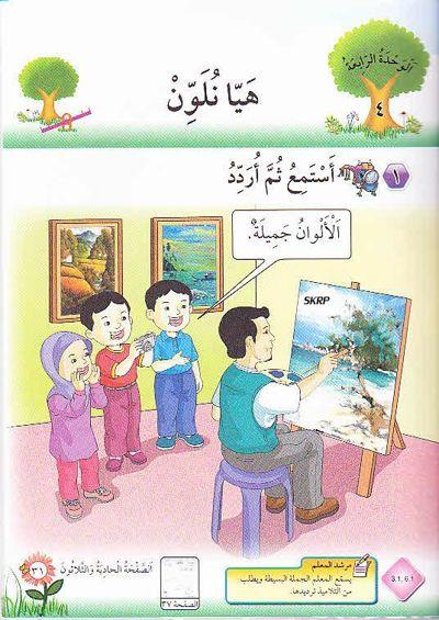 B.TEKS B.ARAB KSSR TAHUN 2 TAJUK 4 (2012)