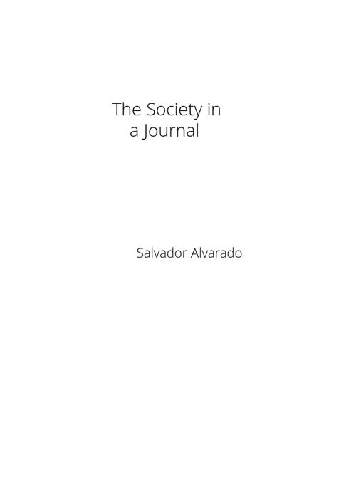 The society in a journal