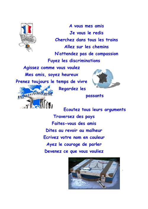Slams de français