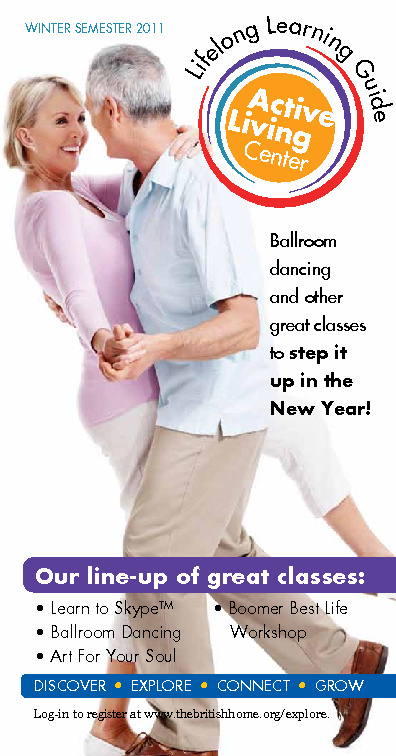The British Home Active Living Center Guide - Winter 2012