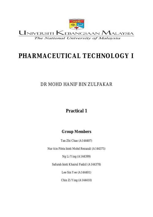Practical 1 Full