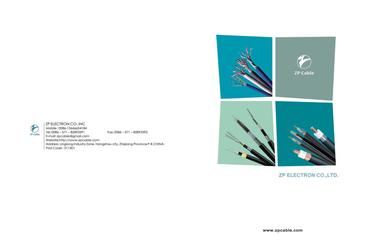 ZP Cable Catalogue